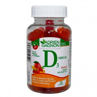 Adrien Gagnon Vitamin D Gummies