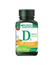 Adrien Gagnon Vitamin D3 Chewable Tablets
