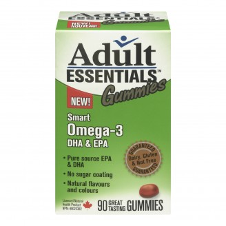 Adult Essentials Omega 3 Gummies for Adults