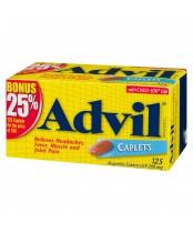 Advil Caplets (125 caplets), Pain Reliever/Fever Reducer, 25% Bonus