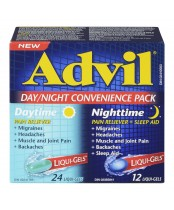 Advil Day/Night Convenience Pack Liqui-Gels