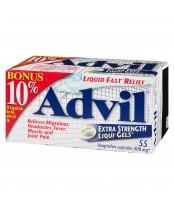 Advil Extra Strength Liqui-Gels (55 count), 10% Bonus