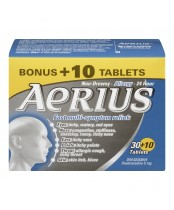 Aerius 24 HR Allergy Tablets Bonus Size