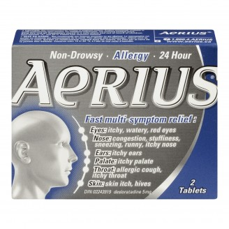 Aerius Allergy Fast Multi-Symptom Relief Tablets