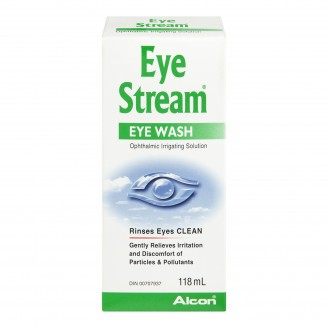 Alcon Eye Stream Sterile Eye Rinse Solution