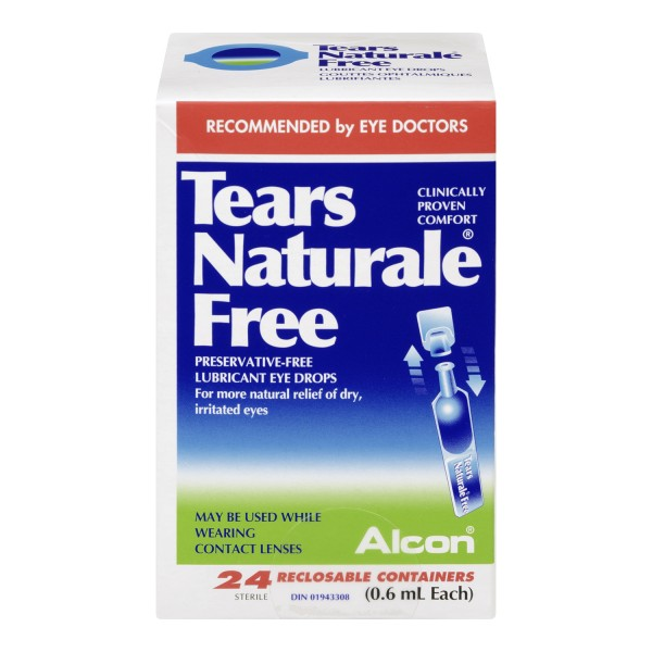 Buy Alcon Tears Naturale Free Lubricant Eye Drops In