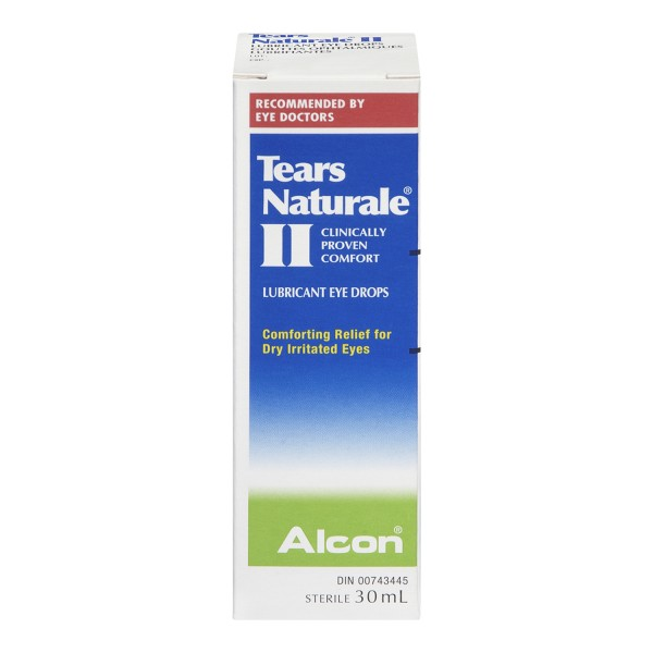 Treadmill Dry Lube: Buy Alcon Tears Naturale II Polyquad Lubricant Eye Drops