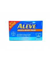 Aleve Back and Body Pain Reliever (57 Count), 10% Bonus