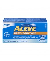 Aleve Back & Body Pain Relief Liquid Gel Capsules