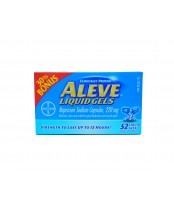 Aleve Liquid Gels (52 count), Joint pain/Backache and muscle pain reliever 30% Bonus