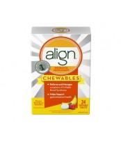 Align Probiotic Supplement Chewables Banana Strawberry
