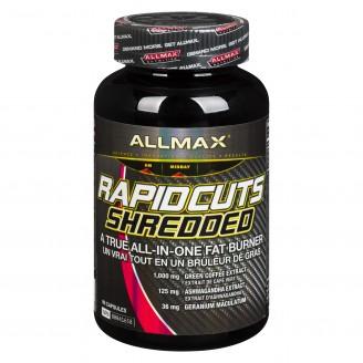 Allmax Nutrition Rapidcuts Shredded Extreme Thermogenic Fat Burner