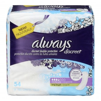 Always Discreet Bladder Protection Pads