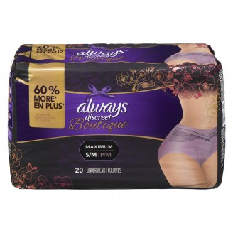 Always Discreet Boutique Maximum Small/ Medium Underwear