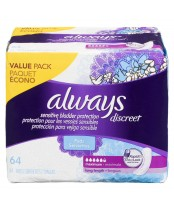 Always Discreet Sensitive Bladder Protection Maximum Long Length
