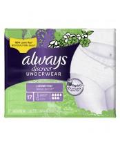Always Discreet Underwear Large