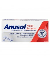 Anusol Hemorrhoidal Suppositories Multi-Symptom