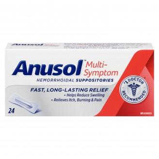 Anusol Hemorrhoidal Suppositories Multi-Symptom