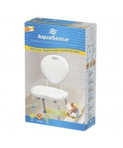 AquaSense Bath Seat with Backrest