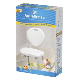 AquaSense Bath Seat with Backrest