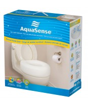 AquaSense Economy Raised Toilet Seat