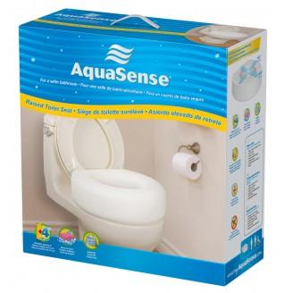 AquaSense Economy Raised Toilet Seat