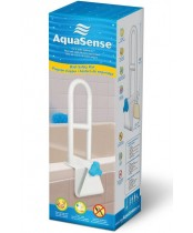 AquaSense Steel Bath Safety Rail