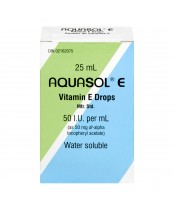 Aquasol Vitamin E Drops