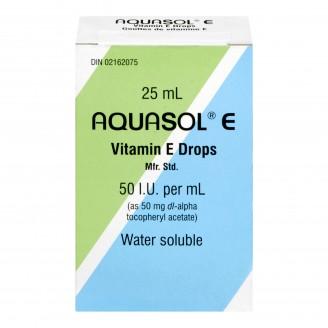Aquasol Vitamin E Drops