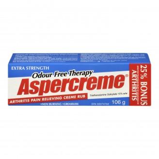 Aspercreme Extra Strength Arthritis Pain Relieving Creme Rub