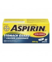 Aspirin Extra Strength Stomach Guard with Calcium Carbonate