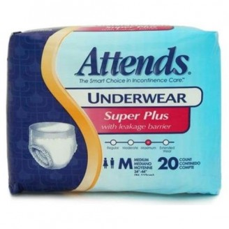 Attends Super Plus Protective Underwear