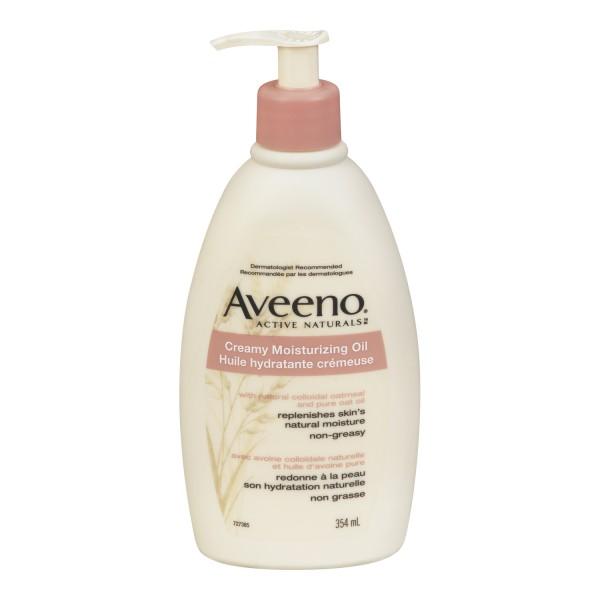 Aveeno creamy oil