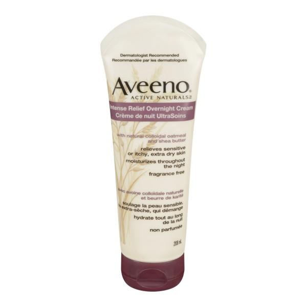 Buy Aveeno Intense Relief Overnight Cream In Canada Free