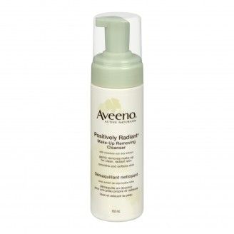 Aveeno Positively Radiant Make Up Removing Cleanser