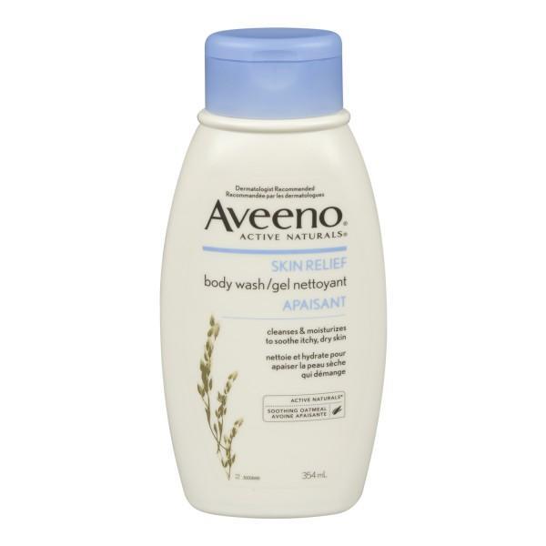 Buy Aveeno Skin Relief Body Wash In Canada Free Shipping