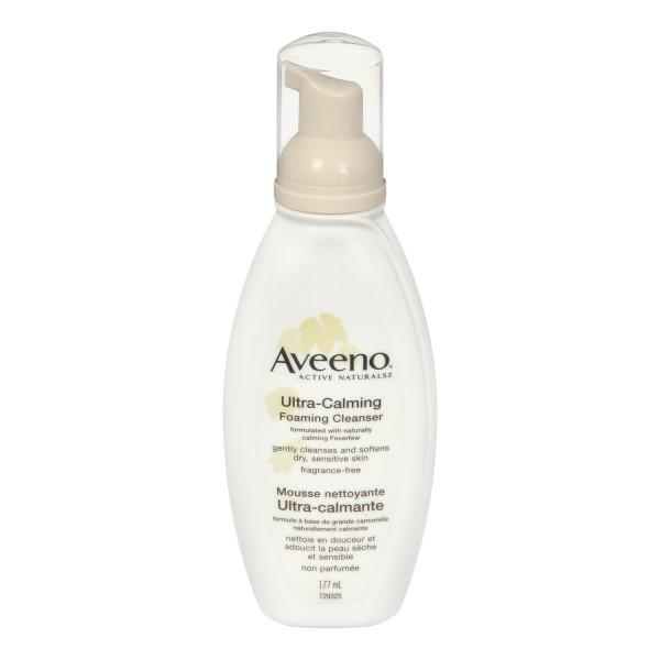 Buy Aveeno Ultra Calming Foaming Cleanser Same Day