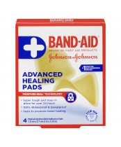 Band-Aid Advanced Hydrocolloid Adhesive Healing Pads