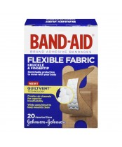 Band-Aid Flexible Knuckle and Fingertip Fabric Bandages