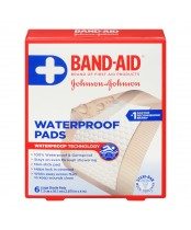 Band-Aid Large Sterile Waterproof Pads