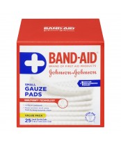 Band-Aid Small Sterile Gauze Pads Value Pack