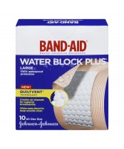 Band-Aid Water Block Plus Adhesive Bandages