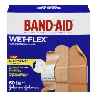 Band-Aid Wet-Flex Aquaflex Foam Bandages