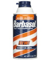 Barbasol Beard Buster Thick and Rich Shaving Cream