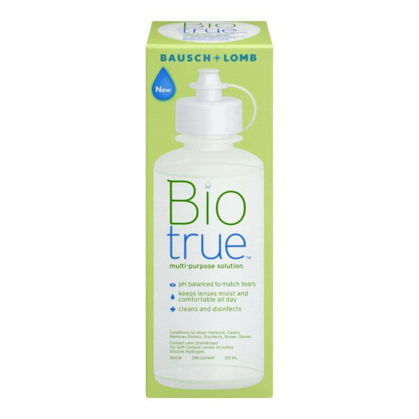 Buy Bausch Amp Lomb Biotrue Multi Purpose Solution In Canada