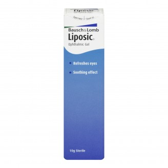 Bausch & Lomb Liposic Ophthalmic Gel