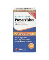 Bausch & Lomb PreserVision AREDS 2 Formula Eye Supplement Capsules