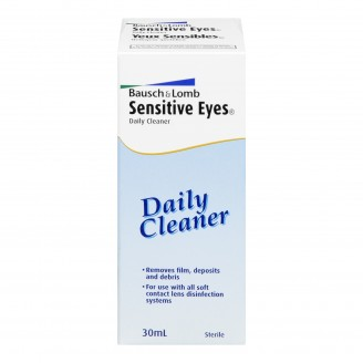 Bausch & Lomb Sensitive Eyes Daily Lens Cleaner