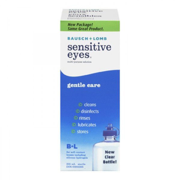 Buy Bausch Amp Lomb Sensitive Eyes Multi Purpose Solution In