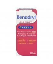 Benadryl Allergy Elixir